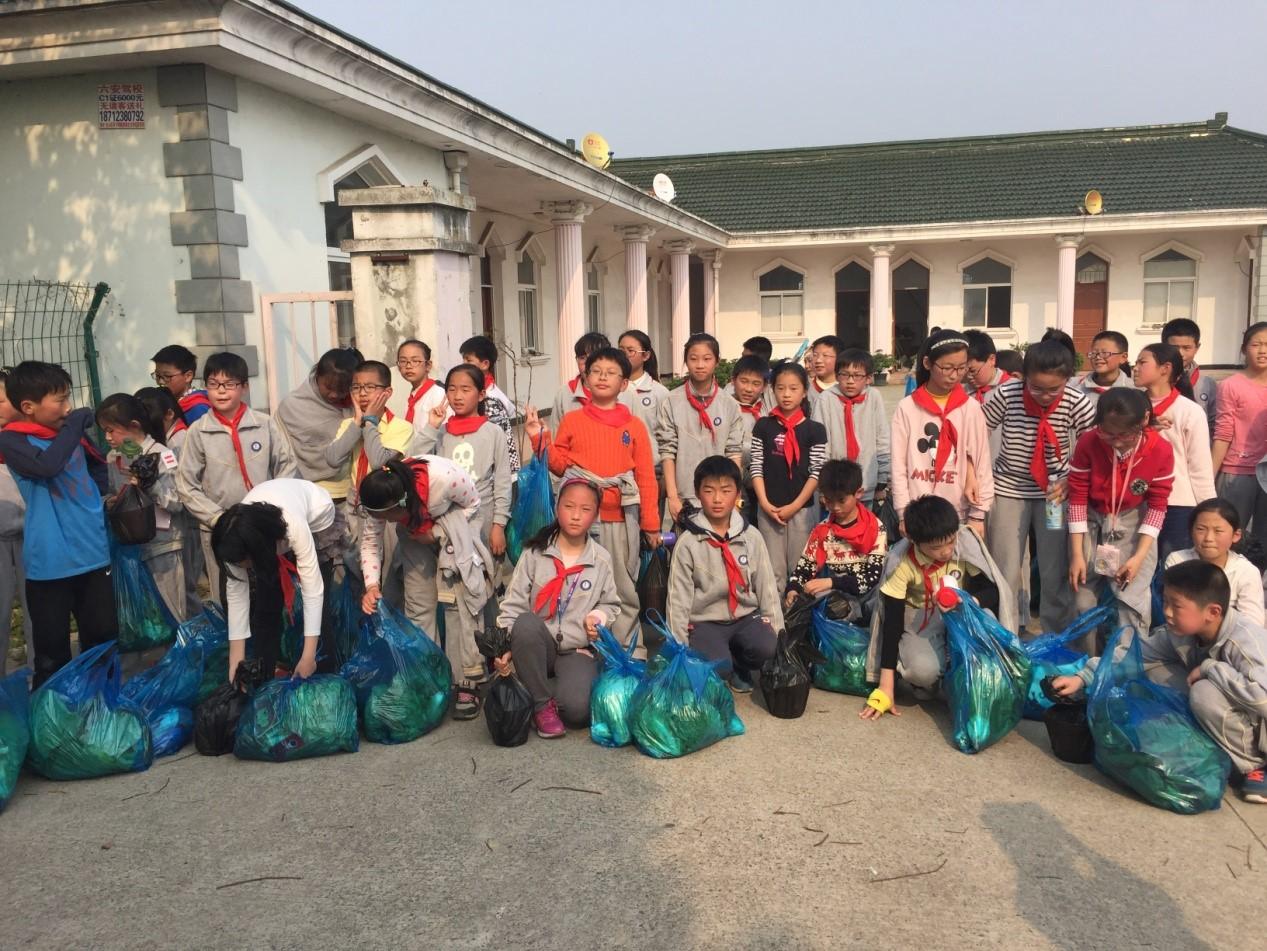 華漕小學師生在我院松江五厙基地開展自然課