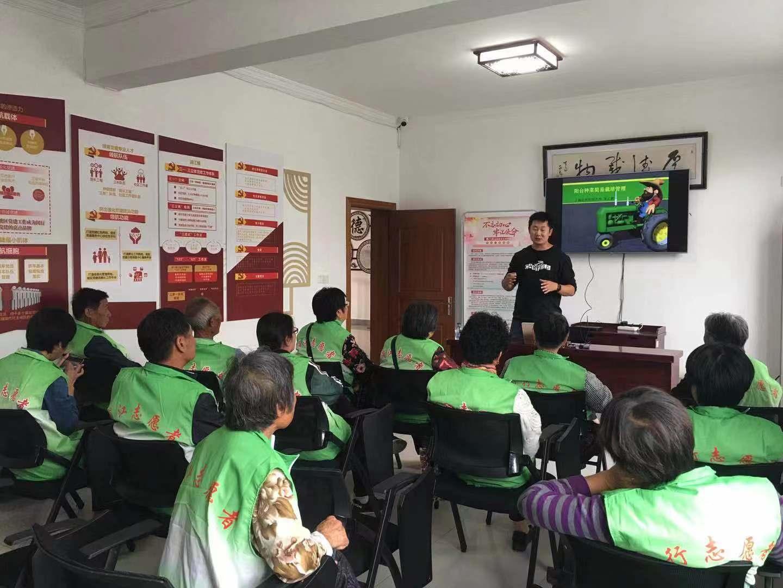 园艺所科技人员赴革新村开展科普培训